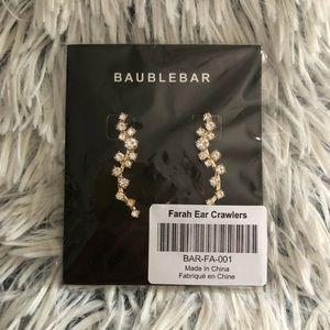 Baublebar Ear Crawler Earrings